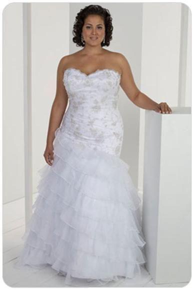 Модные свадебные платья для полных невест | Женский портал