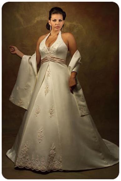 Модные свадебные платья для полных невест   Женский портал