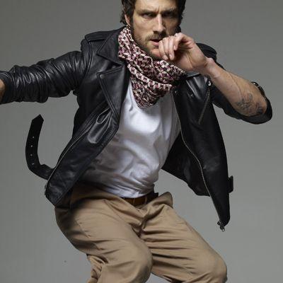 Мужские кожаные куртки весна 2012 от Tommy Hilfiger Стиль.