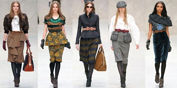 Мода осень зима 2013 года