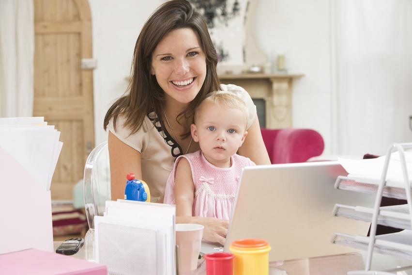 Работа для молодых мам – удаленные
