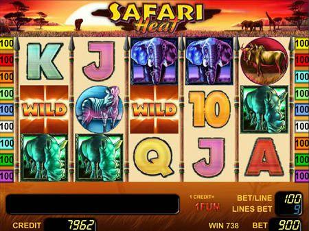 игровой автомат safari heat бесплатно