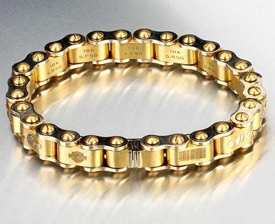 Мужские золотые браслеты | Третьеклассница Анера