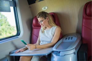 развлечения в поезде