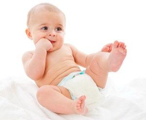 Одноразовые детские подгузники