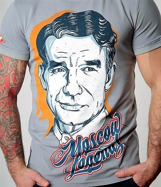 Старостин на футболке