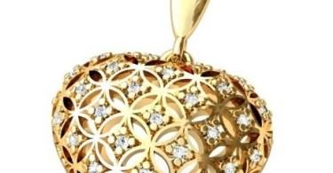 Золотые подвески