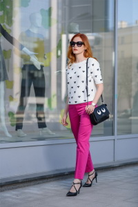 Детали: брюки и пуловер Gardeur, сумка Galaday