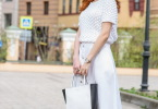 Детали:  джемпер, юбка и шляпа - Giorgio Grati, сумка Coccinelle
