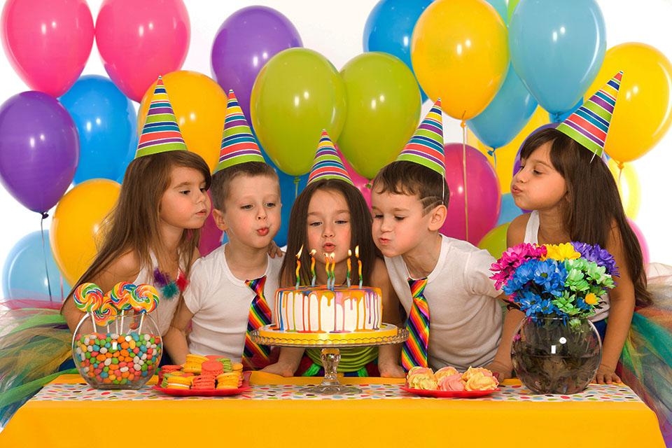 организация детского дня рождения