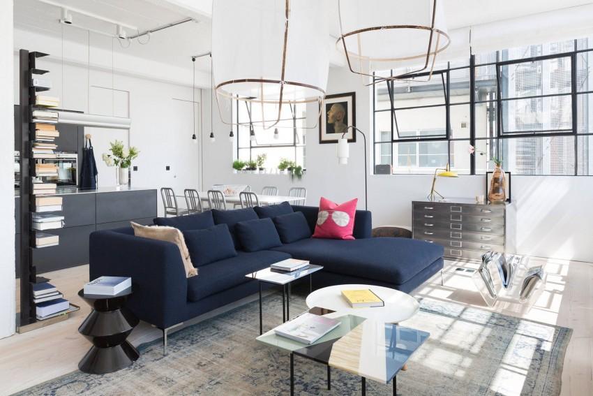 Преимущества мебели лофт