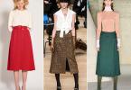 Модные женские юбки 2019