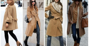 С какой женской обувью носить пальто