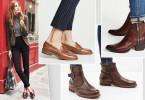 Модные осенние цвета обуви
